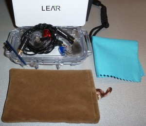 Lear LCM-5 Custom In-Ear Monitors (CIEM)