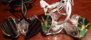 Lime Ears LE3 & LEb custom in-ear monitors