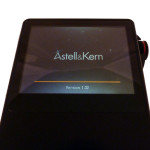 Astell & Kern AK120 boot screen