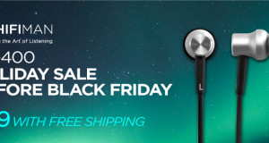 HiFiMan RE-400 Black Friday advert