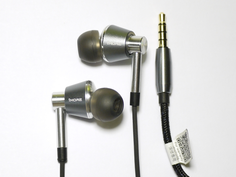 1MORE Triple Driver In Ear-Headphones E1001